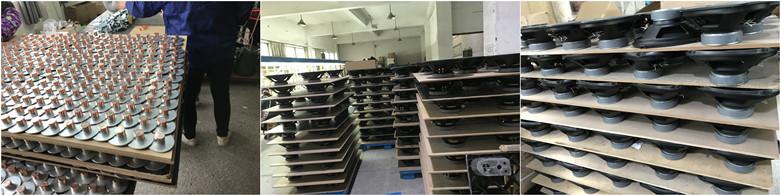 ประเทศจีนโรงงาน6.5นิ้ว100วัตต์รถลำโพงวูฟเฟอร์ลำโพงกลางลำโพง(ZW166-98B-J)