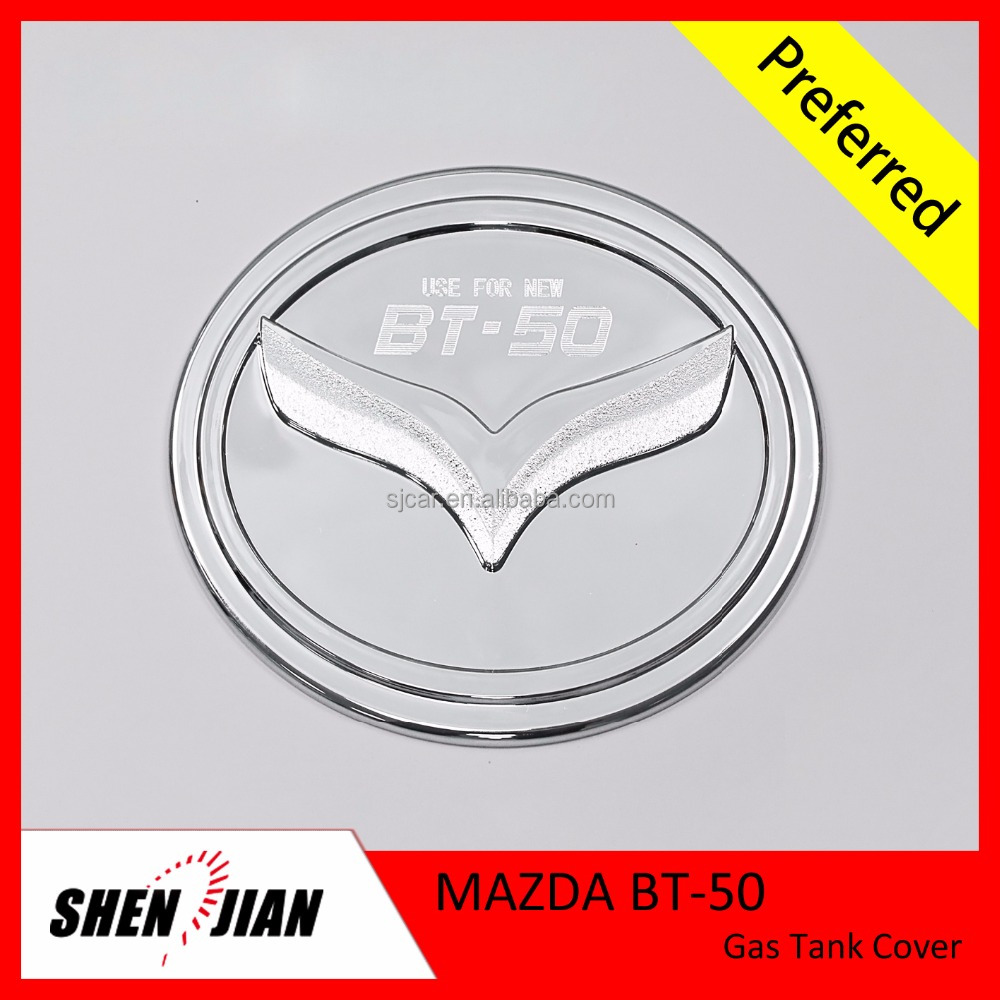 Mazda BT-50 Parts with Factory Price Gas Tank Cover ABS Chrome Accessories for Outer Decoration 4x4 Car Kits