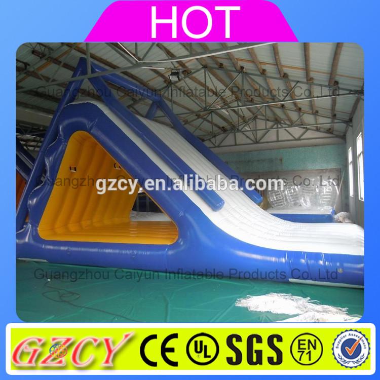 Popular Floating Water Inflatable Glide Slide For Inflatable Water Park  Slides - Buy Inflatable Water Park Slides,Inflatable Water Slide,Floating