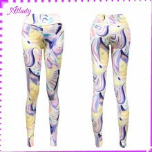 Nice Quality Women Slimming Leggings Colorful latex rubber pants
