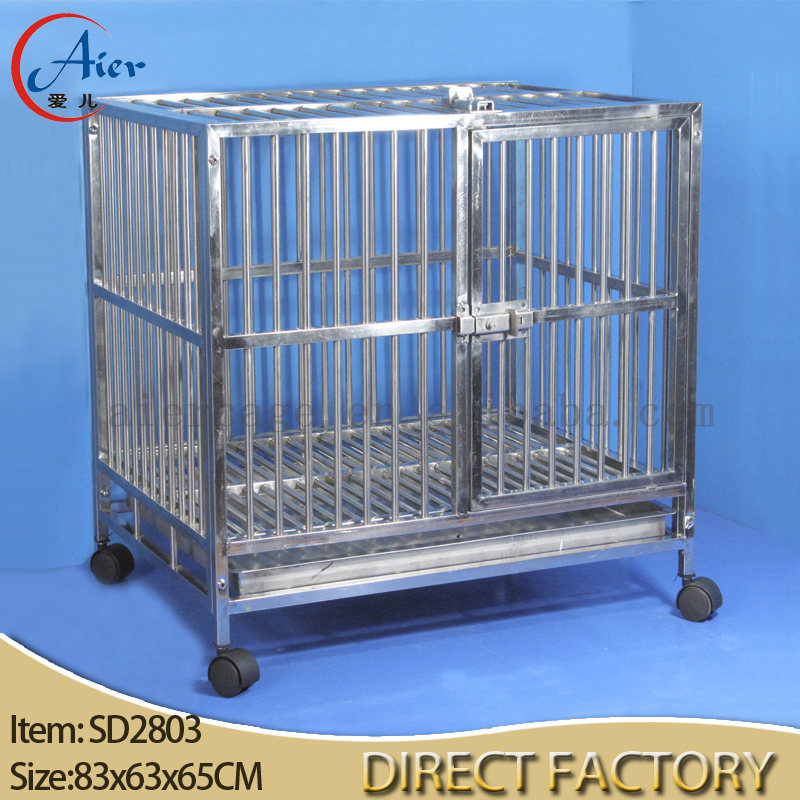 China steel dog cage wholesale 🇨🇳 - Alibaba