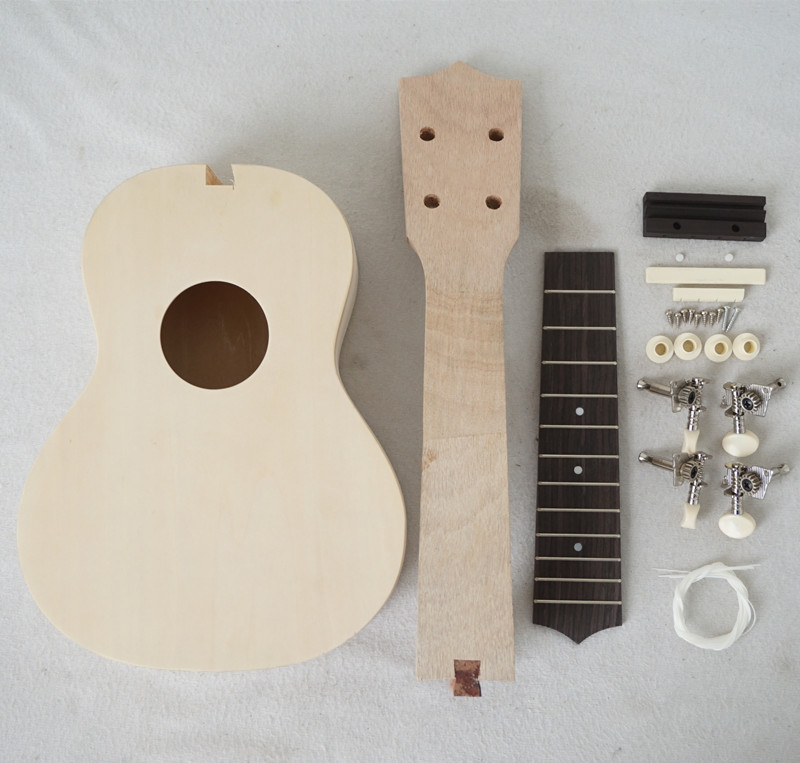 Aiersi Merk diy onvoltooide praktijk ukulele kits kleine gitaren