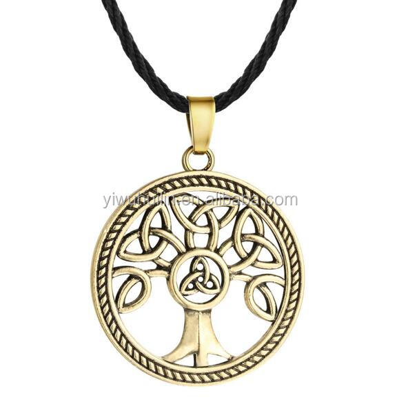 QM015 Celtic Knot tree of life necklace Tree of Life Necklaces