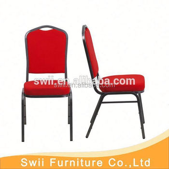 Used Cheap Upholstered Dining Room Chair/metal Frame Banquet Chairs/used  Hotel Furniture Chairs