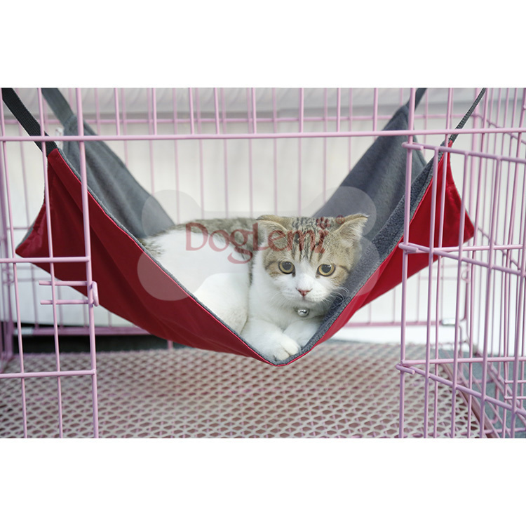 cat reversible winter summer cat hammock swing bed mini puppy heated cat bed trade assurance
