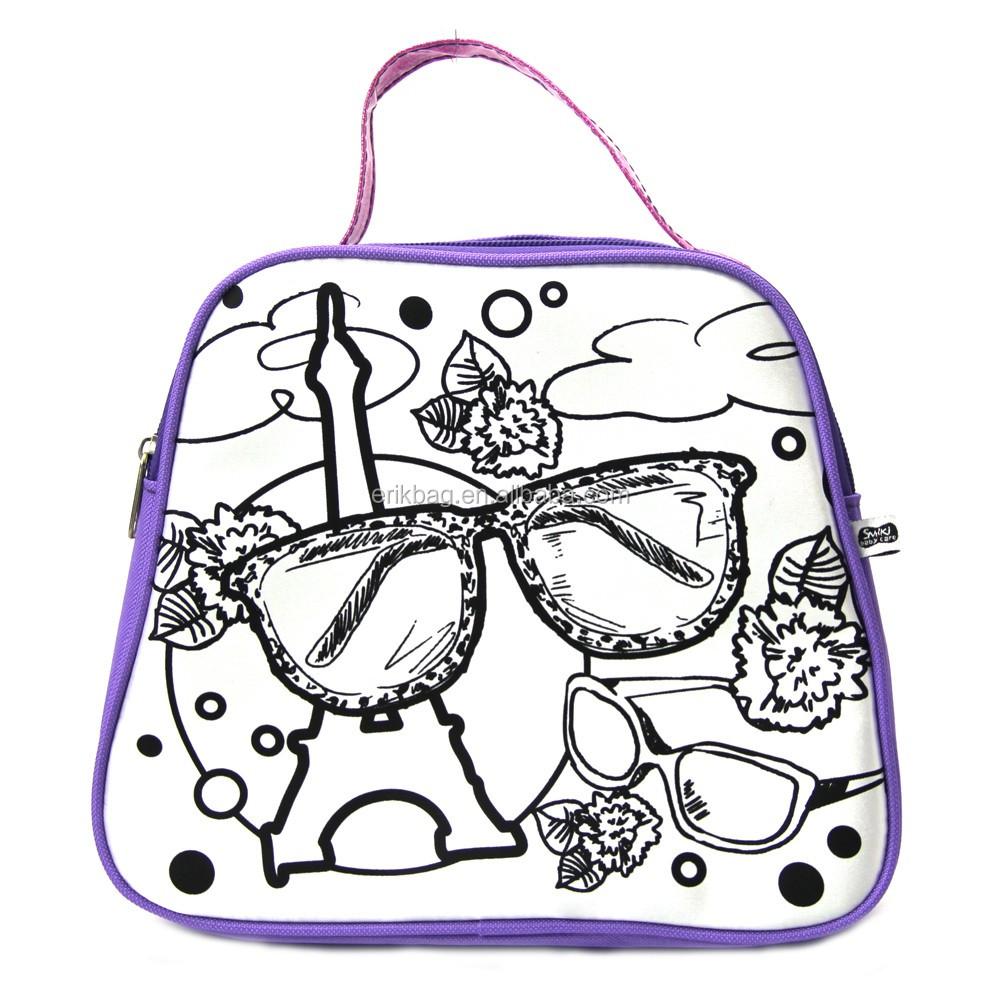 Diy Coloring Drawing Bag Buy Diy Coloring School Bag Kids