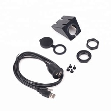 <span class=keywords><strong>Auto</strong></span> Stereo Dashboard Inbouw USB2.0 3.5mm Man-vrouw AUX Kabel <span class=keywords><strong>Kit</strong></span> 6ft