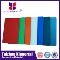 Alucoworld exterior pvdf aluminum composite sheet cheapest exterior wall cladding material