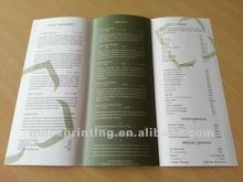 Fancy custom printed catalogue printing service