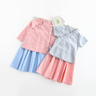 Retail Online Shopping Summer Wonderful Clothing 2pcs Suit For Girls
