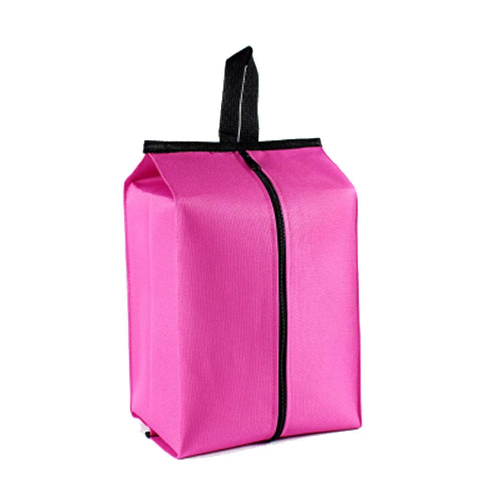 red YaptheS Shoe Bag Outdoor Travel Portable Shoe Bag Travel Shoe Bag Zipper Waterproof Storage Shoe Bag Adult Bag