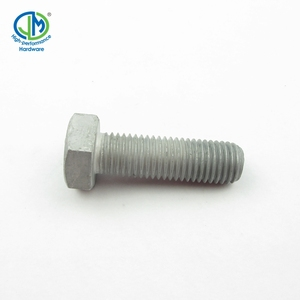 Flat head structural heavy hex bolts