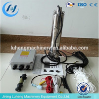 High performance solar powered submersible deep well water pumps for sale