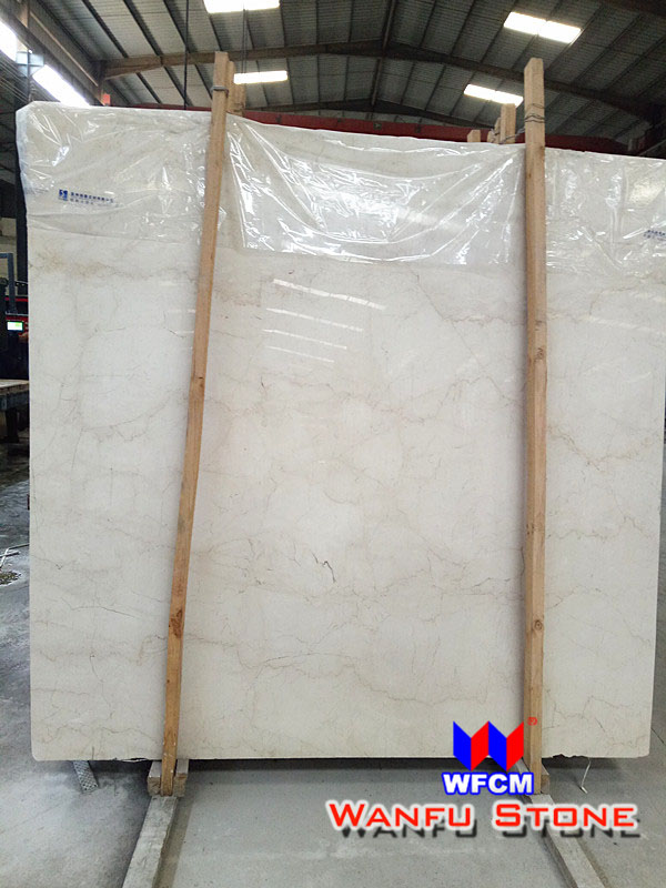 Cheap Turkish Natural Beige Wall Floor Marble Slab