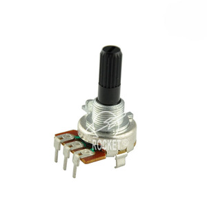Reasonable Price High Resolution Dual Shaft PCB Mount Spring Return Rotary Potentiometer
