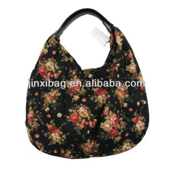 Designer Cotton Fabric Candy Flower Bags Handbags For Ladies ...