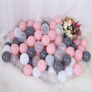 Wholesale Colorful Eco-Friendly plastic macarons ocean balls children Play cheap custom Ocean Ball