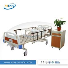 MINA-MB2003 china supply portable recliner chair manual hospital bed prices
