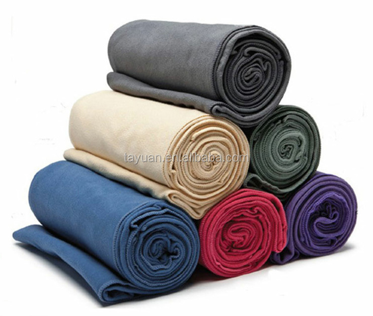 Private label non slip yoga mat towel microfiber for exercise,sport,yoga towel