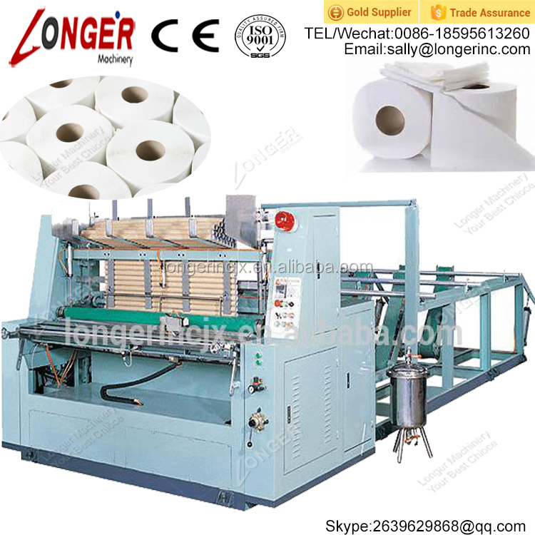 Automatic Toilet Tissue Paper Machine | Toilet Tissue Paper Making Machine