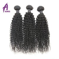 Brazilian Tight Curly Human Hair, Indian Weft Human Hair Extension, Tangle Free Remy Virgin Human Hair