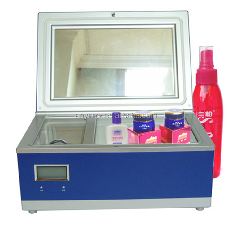 3L Mini Antibacteriële Liquid Crystal Display Cosmetica Koeler Koelkast