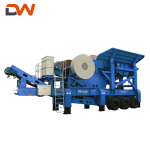 Mobile Stone Crushing Crusher Machine Plant Price