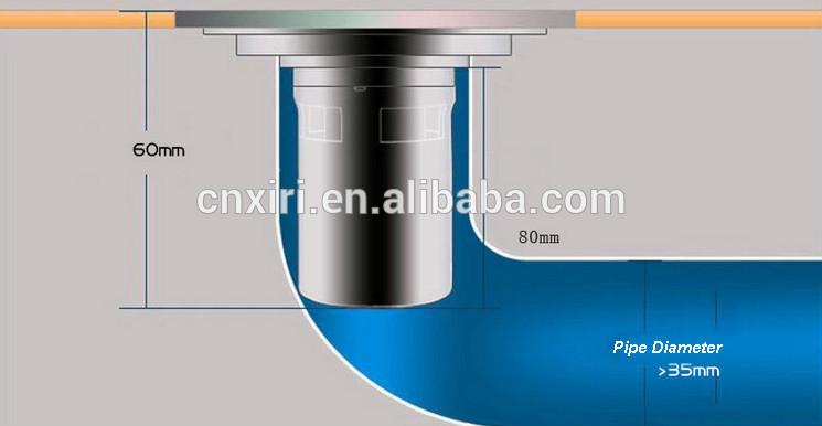 Afvoer Badkamer Diameter : Sanitaire afvoerputje vloer afvoer zeef voor wasmachine douchegoten