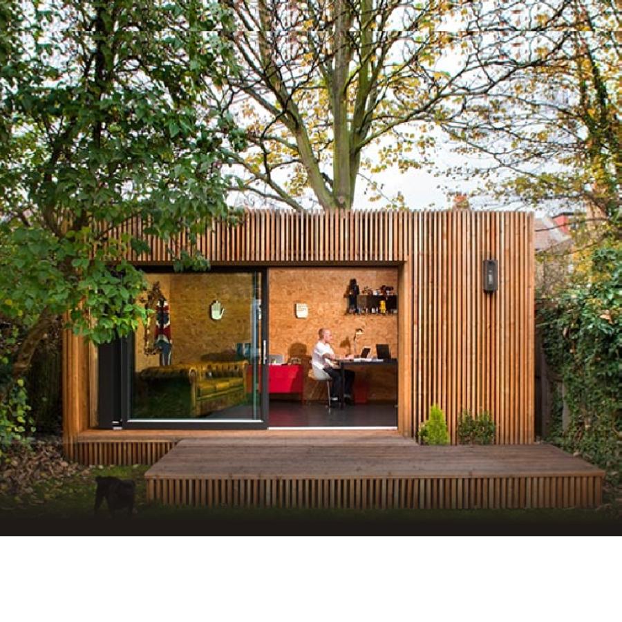 Prefabricated Light Steel Modular Kits Assembled Wooden Design House Garden Studio View Prefabricated Wooden House Deepblue Product Details From Ningbo Deepblue Smart House Co Ltd On Alibaba Com