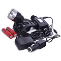 Waterproof portable Camping lamp CREE XML T6 2000 Lumens 3 Mode LED Rechargeable Hunting Spotlight Lamp