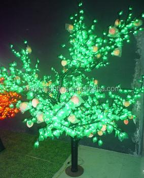 Outdoor Led Perzikboom Licht Voor Ganden Glasvezel Kerstboom ...