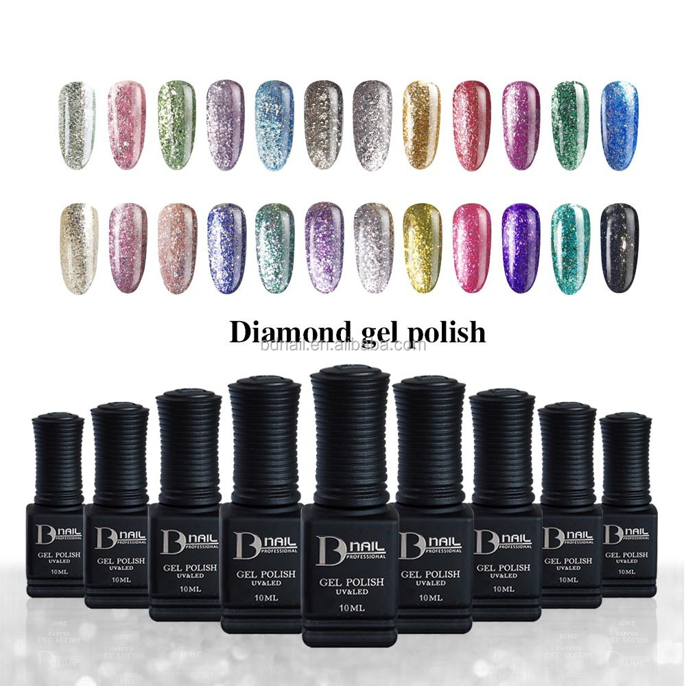 Moon Change Nail Art Kits Soak Off Glitter Color Uv Gel Polish - Buy ...