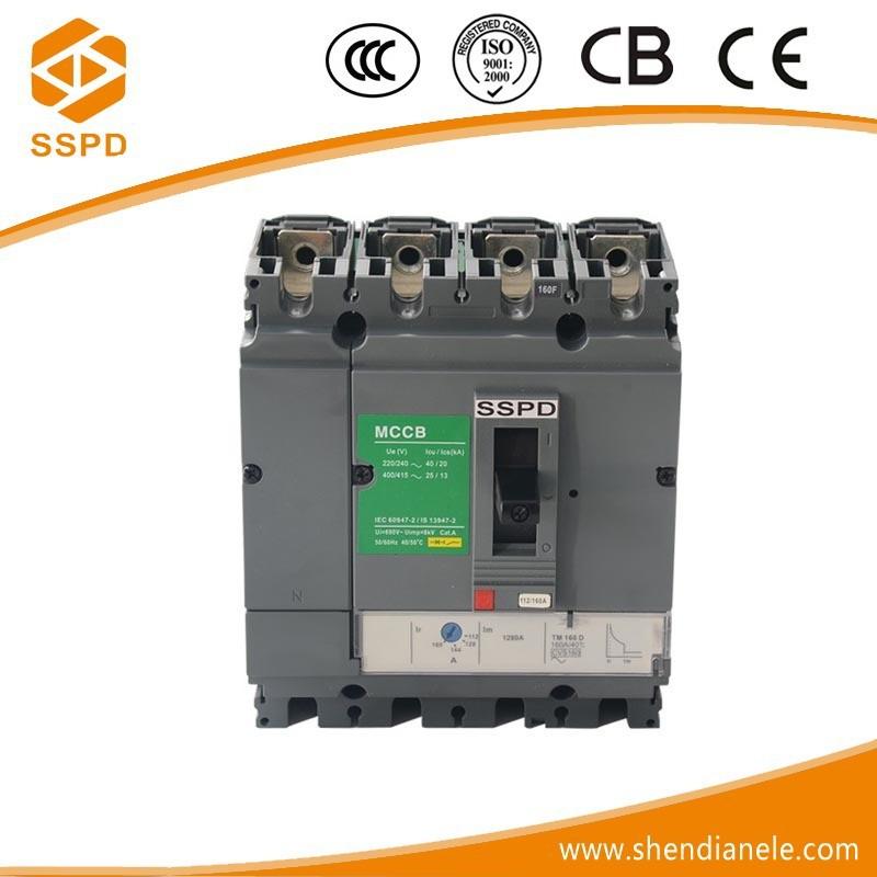 Circuit Breaker Manufacturers Of Cvs 160a 4p Disyuntor Rearme ...