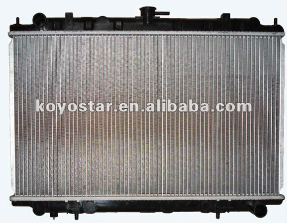 radiator supplier for NISSAN CEFIRO A33 MT