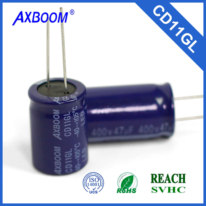 factory price low ESR 100uf led driver capacitor