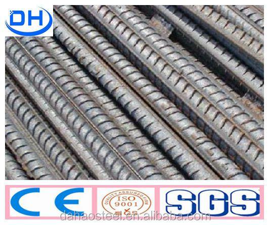 HRB500 Deformed Bars/ Hot Rolled Rebars for Concrete Reinforcement