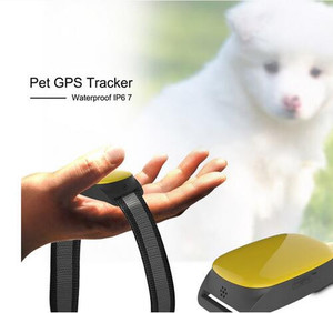 Mini Cat dog GPS Tracker with Collar Waterproof Real Time Locator Chip for Pets