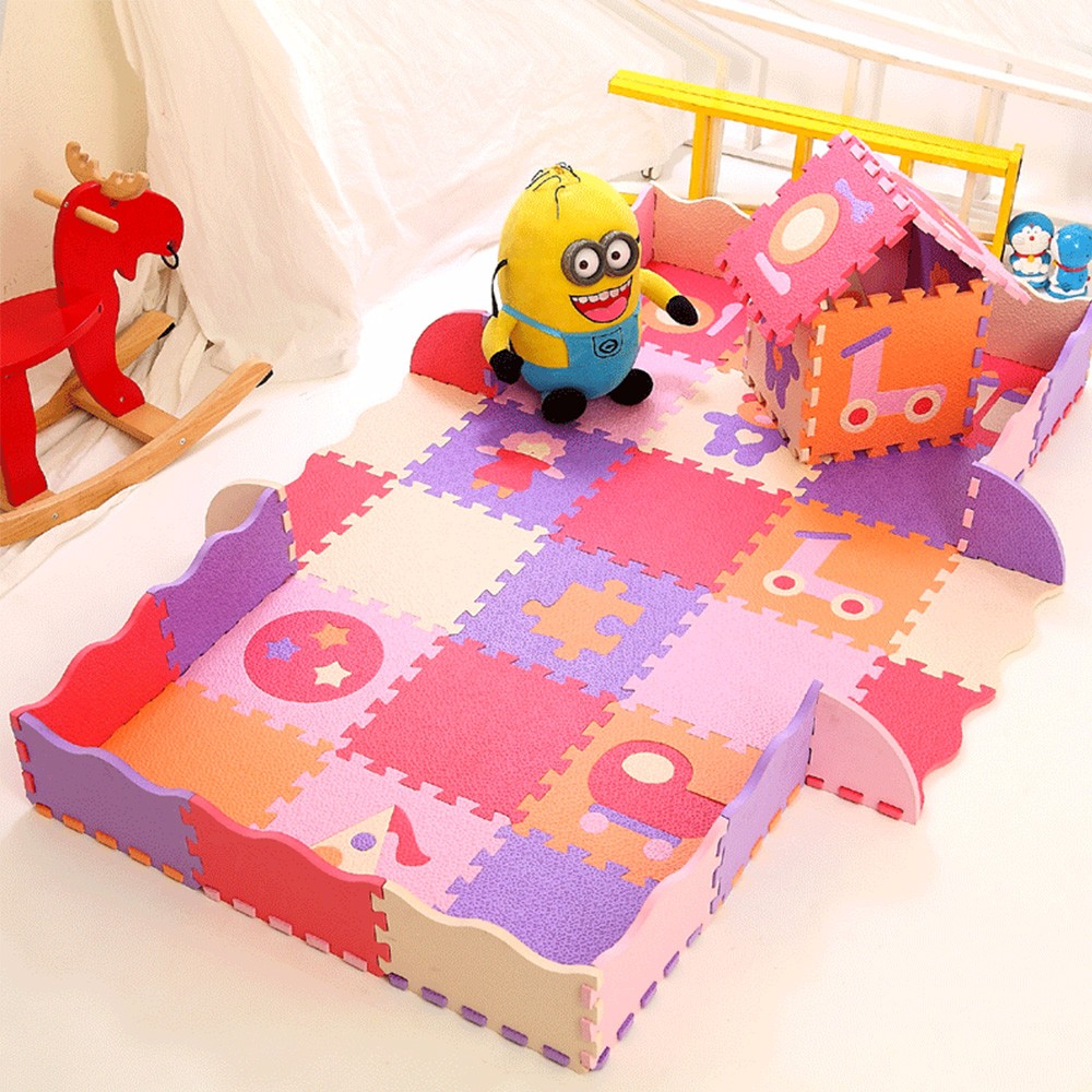 Eco-friendly eva foam high qualitly pvc baby play mat floor mats