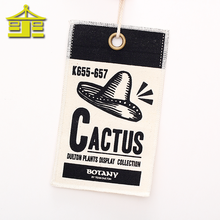 Fancy personal wholesale China t shirt embossed printing luxury fabric hang tags design for clothing