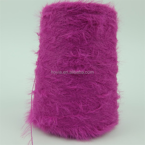 China hot sale Fancy nylon 2cm 4cm feather yarn