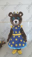 cartoon plush star teddy bear mascot costumes star bear walking actor
