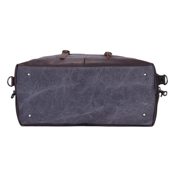 mens weekend duffel bag organizer with secret compartment