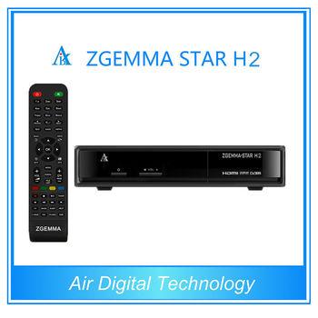 Iptv Set Top Box Zgemma Star H2 Dvb-c Digital Satellite Receiver Media  Player Hd,Most Popular Product In Asia - Buy Dvb-c Digital Satellite