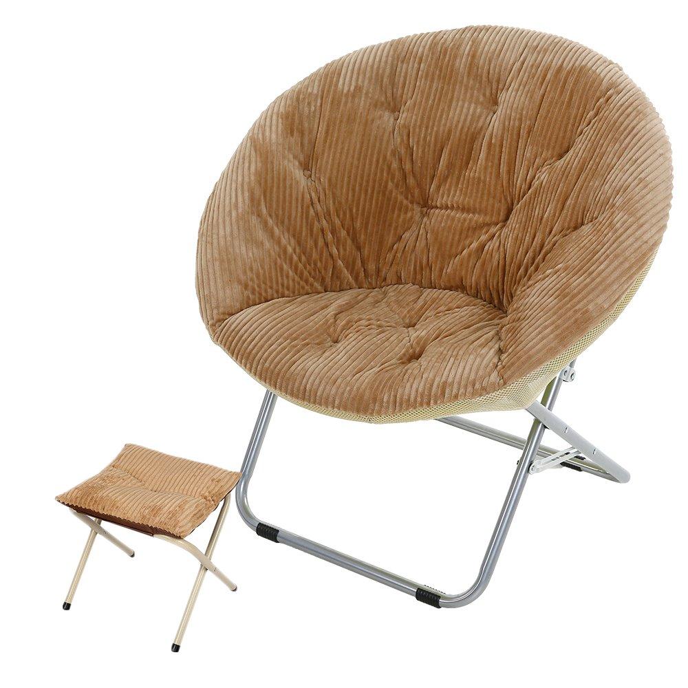 Sensational Buy Genubi Saucer Chair Removable Cover Foldable Indoor Forskolin Free Trial Chair Design Images Forskolin Free Trialorg