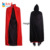 cheap halloween vampire red black cape for party