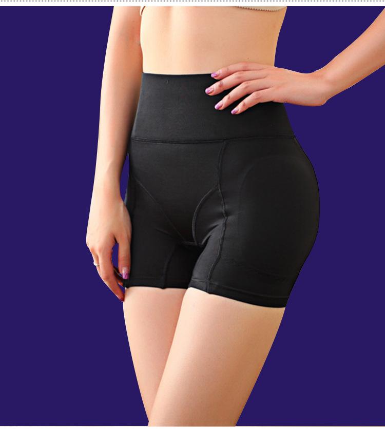 fa8393e56a91 High Waist Hip Women Panties Thick Padded Breathable Abdomen Sexy Underwear  Beautiful Hip Underwear