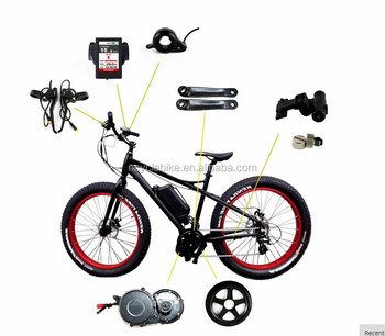 Bbs03 48v 1000w Mid Drive Motor Kits 8 Fun Electric Bicycle Parts