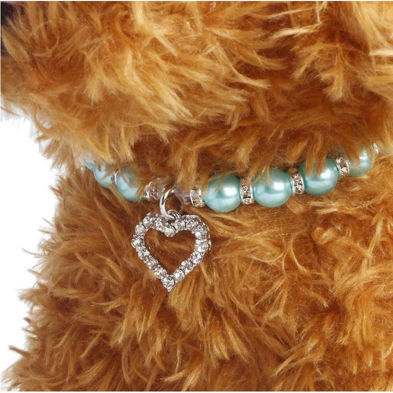 3aefb8078edd Collar gato accesorios amor colgante accesorios para mascotas collar de  perro