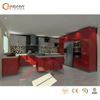 Waterproof Acrylic Kitchen Cabinet-kitchen Cabinet Skins - Buy ...