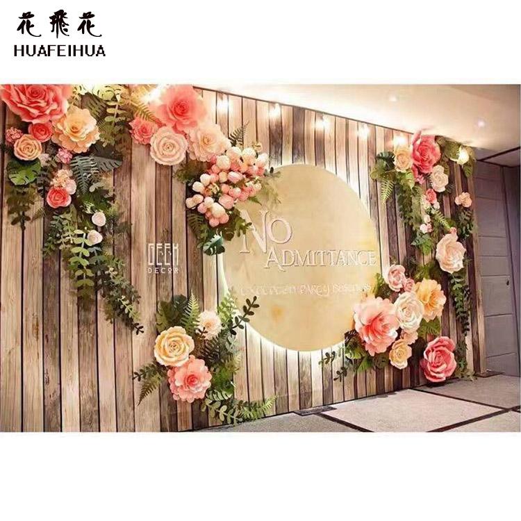 Venta al por mayor flores papel crepe compre online los for Decoracion del hogar con plantas